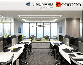 Corona - C4D scene files - Office Space 3D