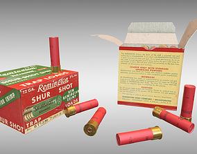 Shotgun Shells - PBR 3D asset