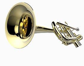 Trumpet 3D asset realtime
