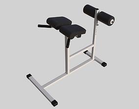 3D model professional bench press 01