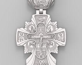 3D print model cross icon
