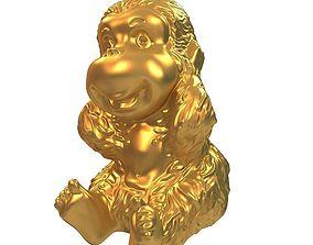 3D model Monkey statue3