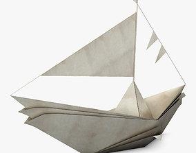 3D model Boat Paper v 1