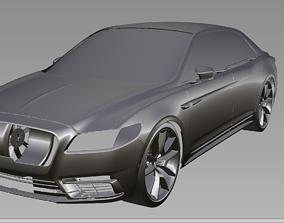 2019 Lincoln Continental 3D Scan Data 3D model 3D print