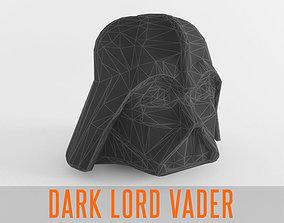 3D model Dark Lord Star Vader Helmet Armor