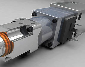 hitachi Hydraulic Valve 3D