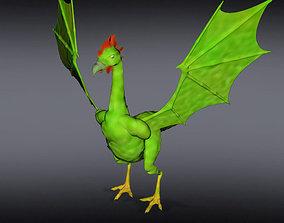 Basilisk Dragon 3D model