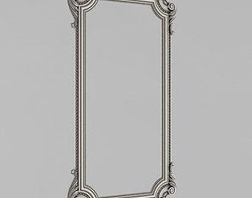 3D print model cast-toy Frame mirror