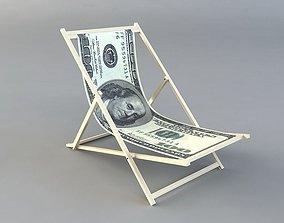 3D model dollar chair