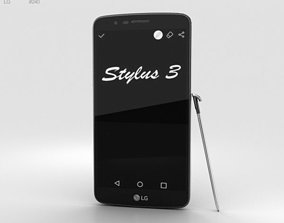 3D model LG Stylus 3 Titan