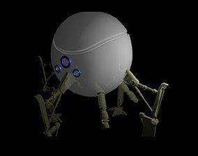3D model animated Robot