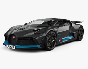 3D Bugatti Divo 2019