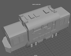 3D printable model LOCOMOTORA