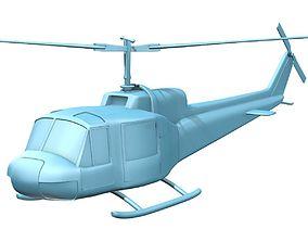 3D print model Bell 204 UH-1B Iroquis Huey
