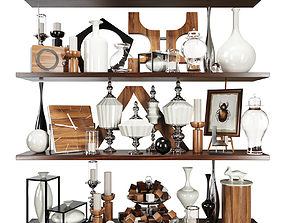 interior 3D Decor set