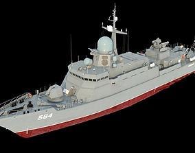3D model Karakurt-class 22800