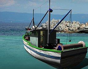 3D model Trawler - FAO Fishing Boat