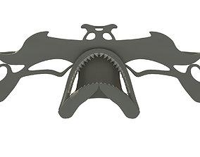 Hammerhead Shark Skull 3D model