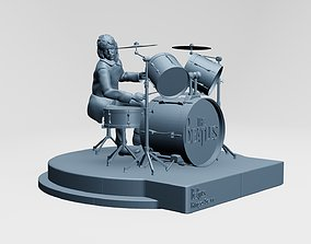 RINGO STARR - THE BEATLES - ROOFTOP 3D printable model