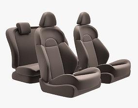 3D asset Nissan Juke Chairs