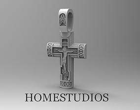 3D print model RELIGIOUS CROSS 77