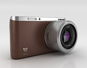 3D model Samsung NX Mini Smart Camera Brown
