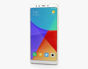 Xiaomi Redmi 5 Gold 3D