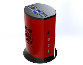 Case Raspberry PI4 3D printable model