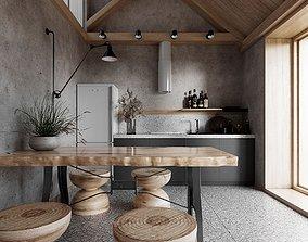 Modern Nordic Restaurant2 3D model