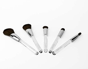 3D model Cosmetic Brush Set