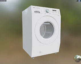 VR Ready - Washer Dryer All in One 3D model