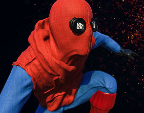 3D printable model Spider-Man Homemade Suit