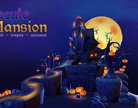 Dracula Mansion 3D model