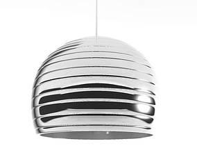 Polished Metal Lamp 3D