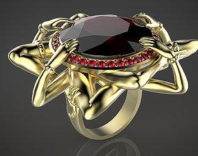 Ring lust 3D print model