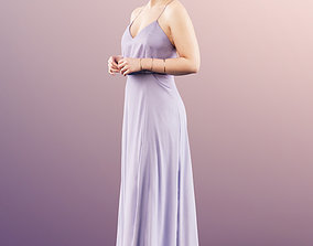 3D model 11618 Marilyn - Young Elegant Woman In Evening