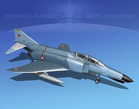 3D model McDonnell Douglas F-4J Phantom II Turkey