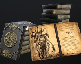 ritual books 3D model