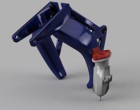 Rock Solid Fang with EZABL sensor Mount 3D print model