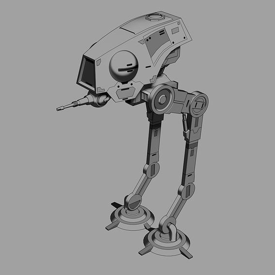 AT-DP Walker - Star Wars - Fan Art