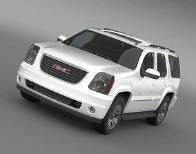 3D GMC Yukon SLT 2012