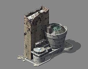 Different dimension - architecture - ruins 07 3D model
