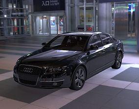 3D model Audi A6 2007