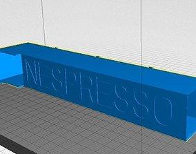 Nespresso Dispenser 3D printable model