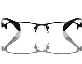 Eyeglasses for Men and Women prescription 3D print model