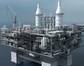 3D hydrogen oil platform