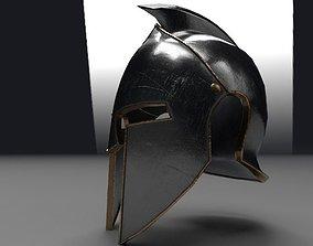 3D asset realtime Helmet of gladiator