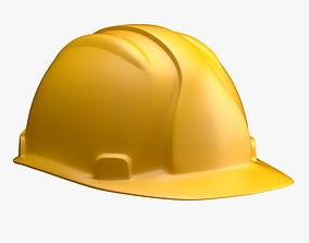 workwear 3D model worker helmet