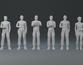 Star Track characters 3D printable model