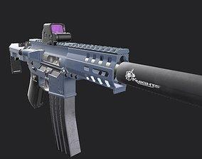 Assault Rifle CMMG 3D asset